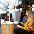 Paul et Maria Pogba ont fêté le premier anniversaire de leurs fils Shakur Labile le 5 janvier 2019. Toute la famille était habillée en Versace pour l'occasion.