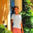 Exclusif - L'animatrice de télévision Julie Andrieu à Valbonne dans les Alpes Maritimes le 21 juin 2019. © Patrice Lapoirie / Nice Matin / Bestimage