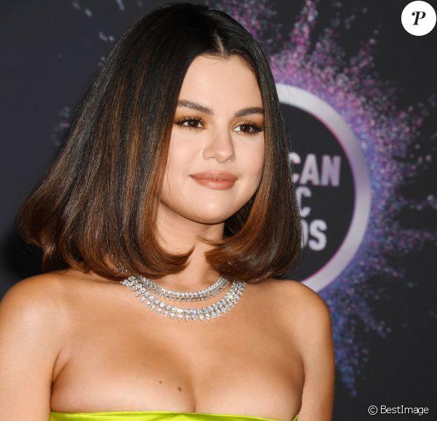 Selena Gomez à la 47ème soirée annuelle des American Music Awards au théâtre Microsoft à Los Angeles, le 24 novembre 2019