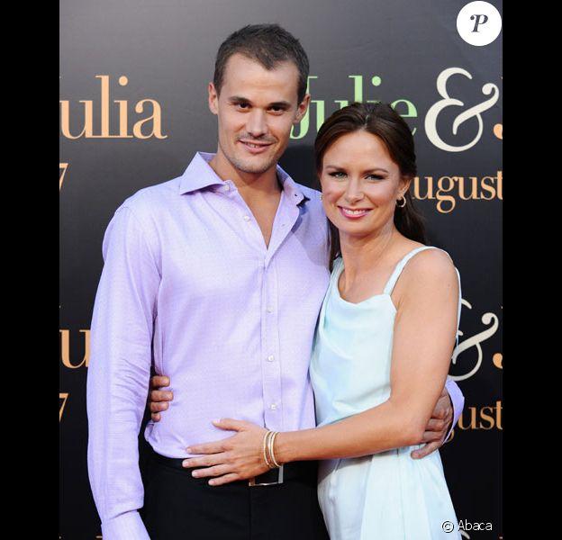 Mary Lynn Rajskub et Matthew Rolph en juillet 2009