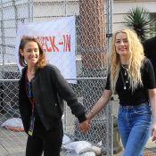 Amber Heard amoureuse de Bianca Butti ? Main dans la main dans une marche phare