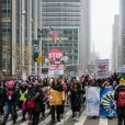 """4ème édition de la """"Marche des femmes"""" à Washington, qui est la dernière avant l'élection présidentielle américaine de 2020. Un rendez-vous annuel de protestation contre la politique de D.Trump et de lutte pour le droit des femmes et des minorités. Le 18 janvier 2020"""