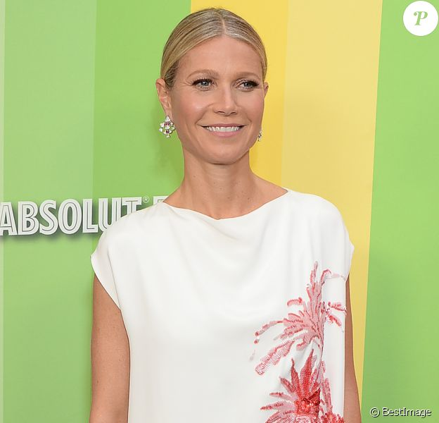 "Gwyneth Paltrow au photocall de la soirée ""amfAR Gala"" à Los Angeles, le 10 octobre 2019."