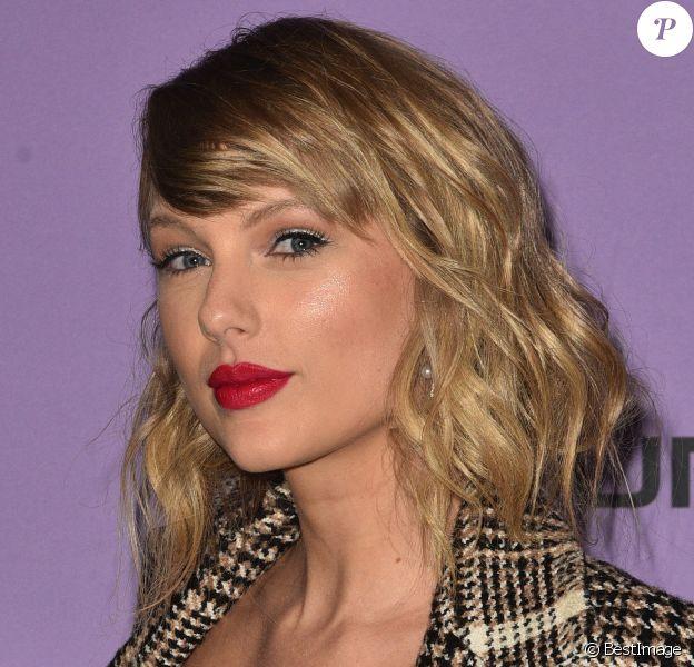 """Taylor Swift au photocall de """"Taylor Swift: Miss Americana"""" au festival de Sundance 2020 à Park City, le 23 janvier 2020. © Imagespace via Zuma Press/Bestimage"""