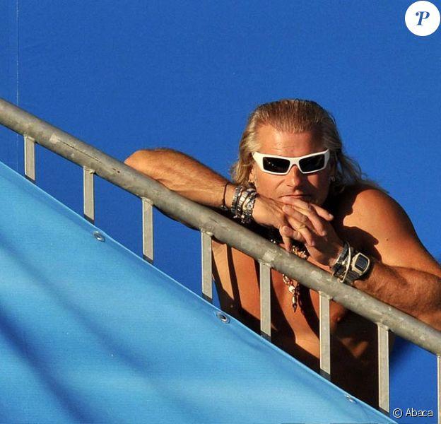 Philippe Lucas lors des Mondiaux de natation 2009 au Foro Italico de Rome