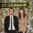 Exclusif - Augustin Trapenard et Clara Luciani assistent à la soirée de présentation de la liqueur St-Germain, dans le quartier de Saint-Germain-des-Près. Paris, le 23 janvier 2020. © Veeren/Bestimage
