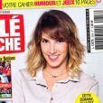 """Léa François en couverture du magazine """"Télé Poche"""" . Janvier 2020."""