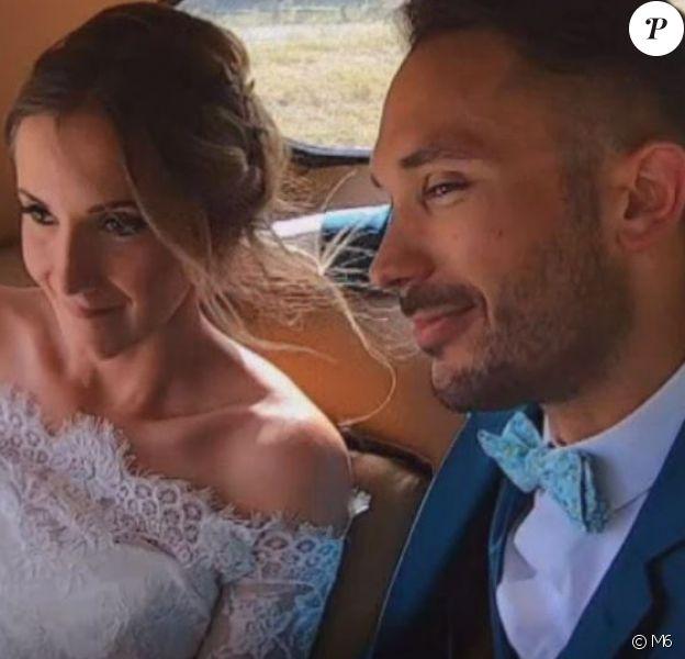 """Mariage d'Elodie et Joachim dans """"Mariés au premier regard 2020"""", le 27 janvier, sur M6"""