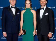 Princesse Sofia : Somptueuse avec Carl Philip et Daniel, sa 1re sortie en 2020