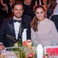 Le prince Carl Philip de Suède et Anna Jonsson Haag lors du Gala des Sports à l'Ericsson Globe à Stockholm, le 27 janvier 2020.