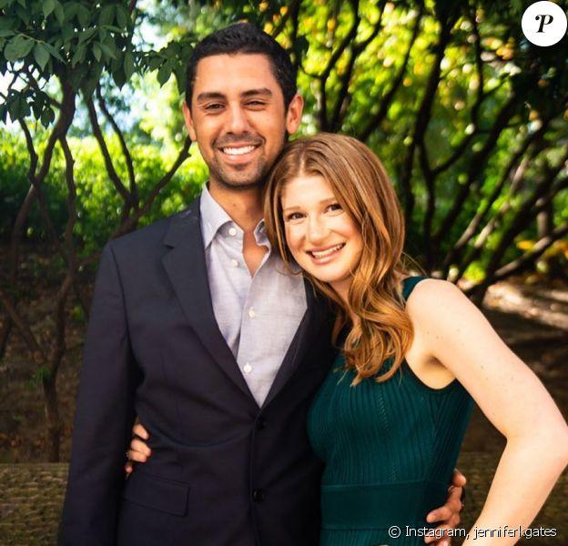 Jennifer Gates, la fille de Bill Gates, avec son fiancé Nayel Nassar sur Instagram, octobre 2019.