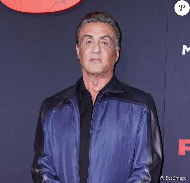 """Sylvester Stallone à la première de """"Rambo: Last Blood"""" au AMC Lincoln Center à New York, le 18 septembre 2019."""