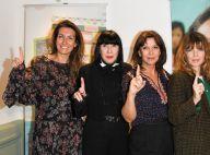 Anne-Claire Coudray : La présentatrice lève le doigt pour fêter un gros chèque