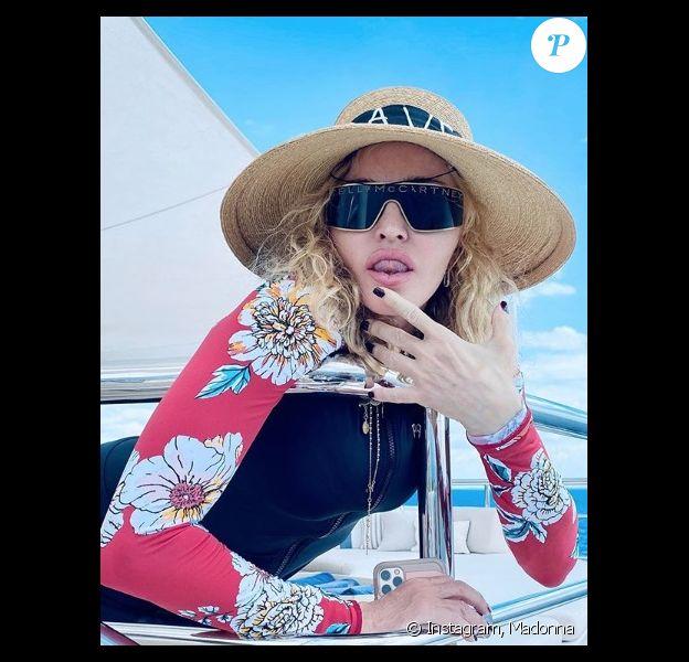 Madonna sur Instagram. Le 5 janvier 2020.