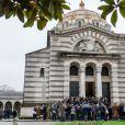 Illustration - Obsèques de Sébastien Demorand à la Coupole du crématorium du cimetière du Père-Lachaise à Paris, France, le 31 janvier 2020.