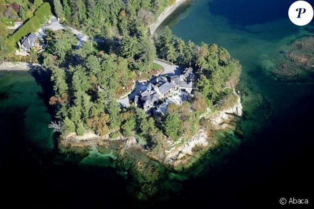 La villa Mille Fleurs que le prince Harry, Meghan Markle et leur fils Archie occupent depuis novembre 2019 sur l'île de Vancouver, au Canada.