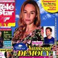 """Couverture du magazine """"Télé Star""""."""