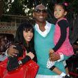 Kobe Bryant avec sa femme Vanessa et leurs filles Natalia et Gianna - Archives - Décès de Kobe Bryant à l'âge de 41 ans et de l'une de ses filles, Giana Maria-Onore, 13 ans, le 26 janvier 2020 dans un accident d'hélicoptère à Calabasas en Californie.