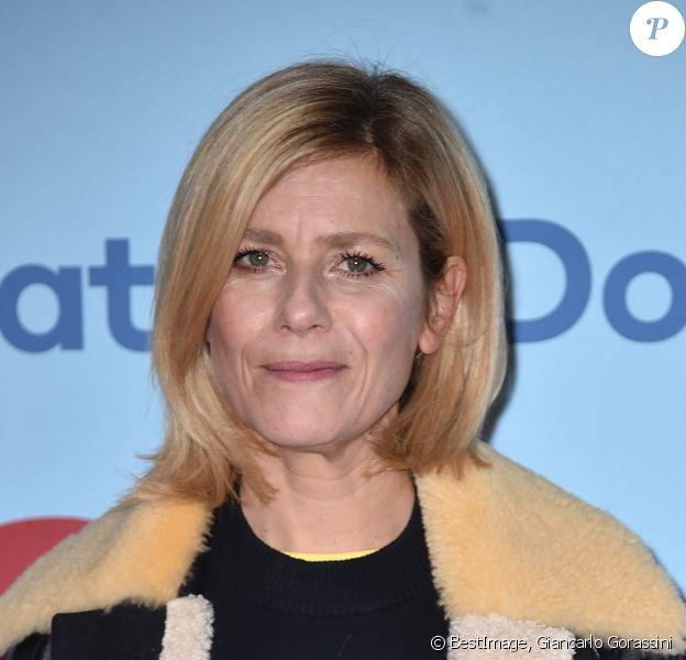 """Marina Foïs - Avant-première du film """"Je suis là"""" au cinéma UGC Normandie à Paris, le 4 février 2020. © Giancarlo Gorassini/Bestimage"""
