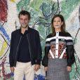 Eric Lartigau, Marina Fois à la Fondation Maeght, à Saint-Paul-de-Vence. Le 28 mai 2018. @Marco Piovanotto/ABACAPRESS.COM