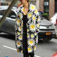 Karlie Kloss arrive à la Park Avenue Armory pour assister au défilé Marc Jacobs. New York, le 12 février 2020.