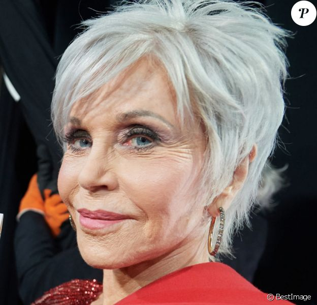 Jane Fonda en backstage de la 92e cérémonie des Oscars 2020 au Hollywood and Highland à Los Angeles, Californie, Etats-Unis, le 9 février 2020. © CPA/Bestimage