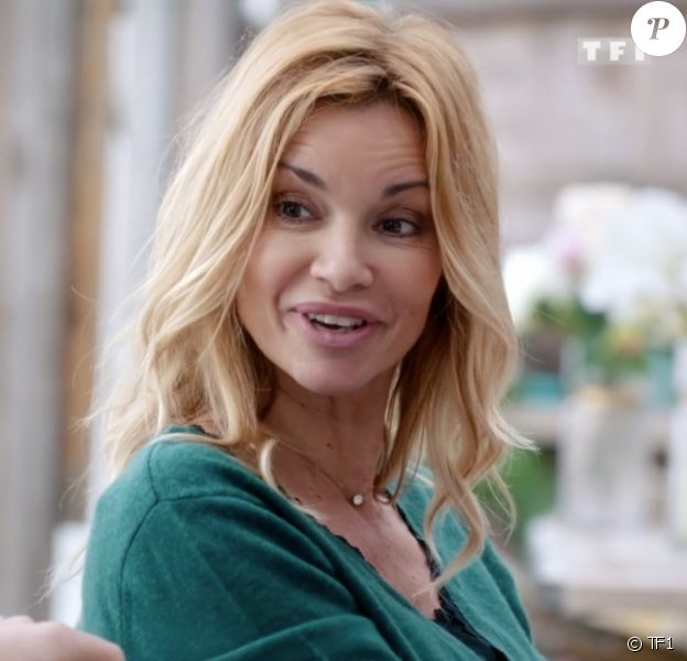 """Ingrid Chauvin joue Chloé Delcourt dans la série """"Demain nous appartient"""", diffusée sur TF1."""