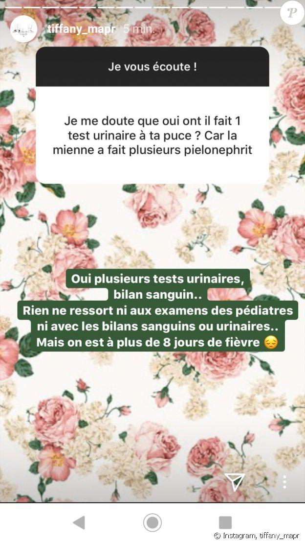 """Tiffany de """"Mariés au premier regard"""" donne des détails sur l'hospitalisation de Zélie, le 17 février 2020"""