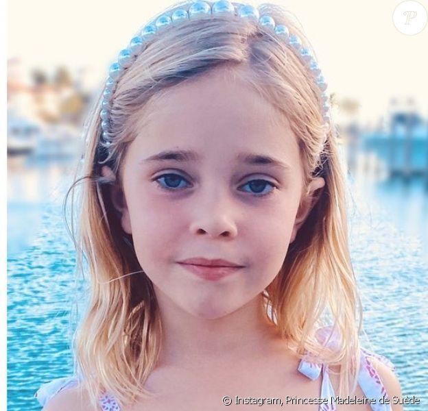 La princesse Leonore de Suède, photo partagée sur Instagram le 20 février 2020 par sa mère la princesse Madeleine de Suède pour son 6e anniversaire.