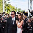 """Quentin Tarantino et sa femme Daniella Pick - Montée des marches du film """"Once upon a time... in Hollywood"""" lors du 72ème Festival International du Film de Cannes. Le 21 mai 2019 © Borde / Bestimage"""