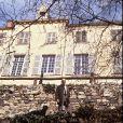 Archives - Valéry Giscard d'Estaing et sa femme ouvrent les portes de leur château de La Varvasse, à Chanonat, en 1987.