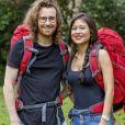 """Maxime et Alizée, 26 et 25 ans, le jeune couple de Neuilly qui participe à """"Pékin Express : La Course infernale"""" sur M6."""