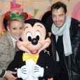 Exclusif - Elodie Gossuin et son mari Bertrand Lacherie - Célébration des 90 ans de magie avec Mickey à Disneyand Paris le 17 novembre 2018. © Veeren/Bestimage