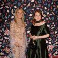 Gwyneth Paltrow et Glenda Bailey, rédactrice en chef de Harper's Bazaar, assistent à la soirée de gala du Musée des Arts Décoratifs, avec Harper's Bazaar. Paris, le 26 février 2020. © Veeren Ramsamy / Bestimage