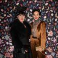 Rossy de Palma et Farida Khelfa assistent à la soirée de gala du Musée des Arts Décoratifs, avec Harper's Bazaar. Paris, le 26 février 2020. © Veeren Ramsamy / Bestimage
