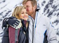 Famille royale des Pays-Bas : Romance et chahut à la neige, de superbes images