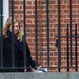 Exclusif - Boris Johnson (Premier ministre du Royaume-Uni), et sa fiancée Carrie Symonds, enceinte, ont fait une annonce officielle. Londres, le 14 février 2020.14/02/2020 - Londres
