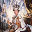 Portrait de la reine Elizabeth en 1953.