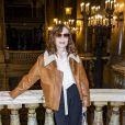 Isabelle Huppert assiste au défilé Stella McCartney, collection automne-hiver 2020-2021, à l'Opéra Garnier. Paris, le 2 mars 2020. © Olivier Borde/Bestimage