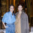 Shailene Woodley et Caitriona Balfe assistent au défilé Stella McCartney, collection automne-hiver 2020-2021, à l'Opéra Garnier. Paris, le 2 mars 2020. © Olivier Borde/Bestimage