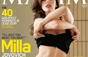 Milla Jovovich nous donne un avant-goût... de sa nuit de noces !