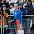 Alicia Vikander - Arrivées au défilé Louis Vuitton collection prêt-à-porter Automne/Hiver 2020-2021 lors de la Fashion Week à Paris le 3 mars 2020. © Christophe Clovis - Veeren Ramsamy /