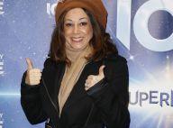Sarah Abitbol souriante après le scandale, soirée spectacle avec Holiday On Ice