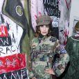 """Exclusif - Abigail Lopez Cruzassiste à la soirée de lancement de la collection """"Mae x Madonna"""" à Paris, le 4 mars 2020. © Pierre Perusseau/Bestimage"""