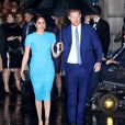 Le prince Harry, duc de Sussex, et Meghan Markle, duchesse de Sussex, arrivent à la cérémonie des Endeavour Fund Awards à Londres le 5 mars 2020.