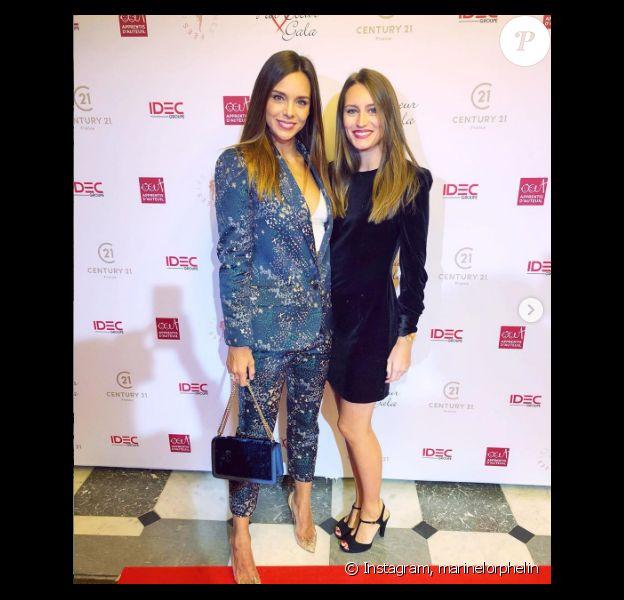 Marine Lorphelin et sa soeur Lou-Anne - Instagram, 2020