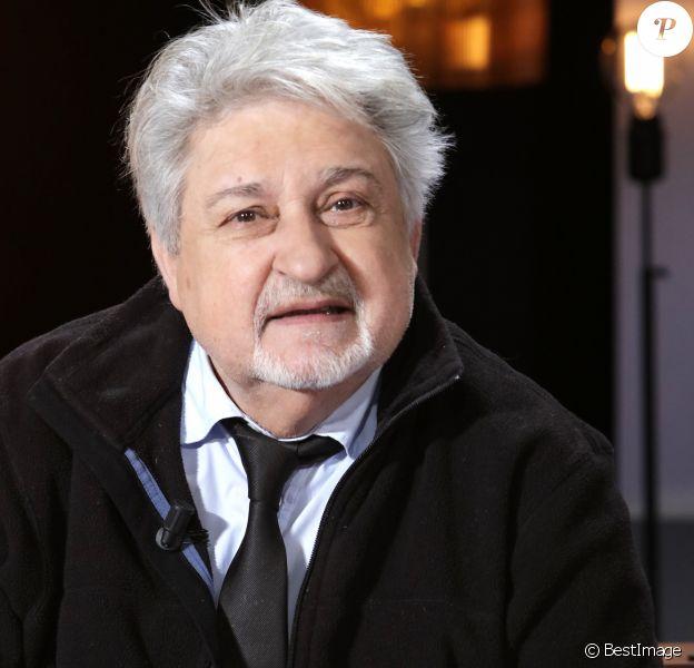 Portrait de Didier Bezace, janvier 2017.