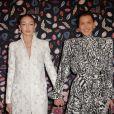 Gigi Hadid et sa soeur Bella Hadid assistent à la soirée de gala du Musée des Arts Décoratifs, avec Harper's Bazaar. Paris, le 26 février 2020. © Veeren Ramsamy / Bestimage