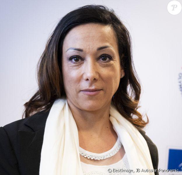Sarah Abitbol lors de la Convention nationale pour la prévention de la violence sexuelle dans le sport à Paris le 21 février 2020. © JB Autissier/Panoramic/Bestimage