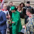 Le prince Harry et Meghan Markle lors de la cérémonie du Commonwealth Day en l'abbaye de Westminster à Londres, le 9 mars 2020.